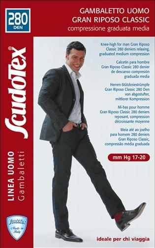 CIORAP DE COMPRESIE MEDIE SCUDOTEX UOMO